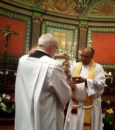 Easter 2018: Pastor Donnella prepares the incense