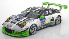 Rennsport Minichamps 1:18 Porsche 911 (991) GT3 R No.912, 24h Nürburgring Christensen/Bergmeister/Makowiecki/Lietz 2016  Limited Edition 356 pcs. www.modelissimo.de