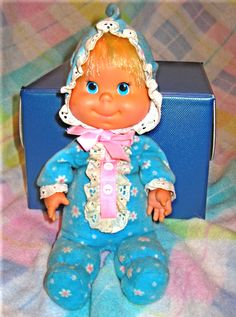 0d745a2ebb3 Itsy Bitsy Beans Baby by Mattel (I always called her Beanie Baby)