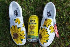 Sip of Sunshine & Sunflower Vans