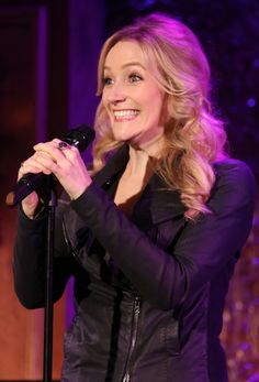 Betsy Wolfe is super psyched
