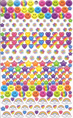 Find images and videos about stickers and lisa frank on We Heart It - the app to get lost in what you love. Lisa Frank Stickers, Love Stickers, Rainbow Aesthetic, Retro Aesthetic, Photoshop Elementos, Photo Wall Collage, Cute Wallpapers, Aesthetic Wallpapers, Photo Cards
