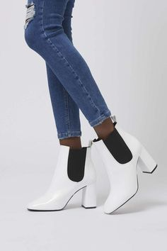 Maria Flared Chelsea Boots by Topshop