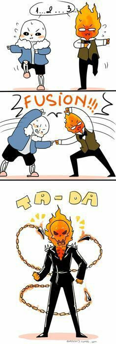Sansby!! This is probably what their kids are gonna look like XD