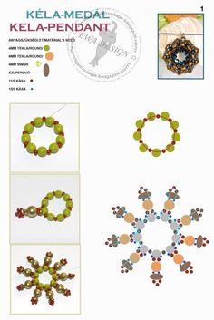 Kela pendant pattern 1