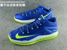 huge selection of 239d4 92da3 Nike LeBron 11 Low  Sprite  - Detailed Look - WearTesters