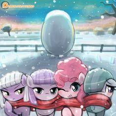 Pie Sister's Winter by luminaura.deviantart.com on @DeviantArt