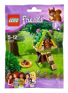 Amazon.com: Lego Friends 41017 Squirrels Tree House, Age 5-12: Toys & Games