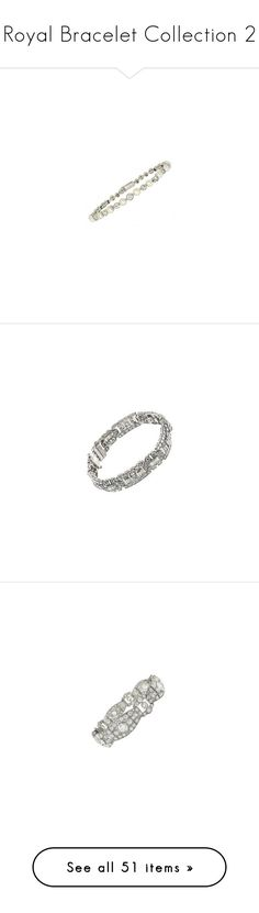 """""""Royal Bracelet Collection 2"""" by nmccullough ❤ liked on Polyvore featuring jewelry, bracelets, antique bangles, diamond bangles, antique edwardian jewelry, antique pearl jewelry, antique jewellery, diamond jewellery, art deco diamond jewelry and art deco jewelry"""