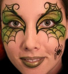 Face Painting spider | Pictures | Orange County Face Painting | Birthday Parties