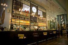 Restaurant & Bar Design Awards 2011 - The Alchemist (Manchester) / Living Ventures Cafe Bar, Cafe Restaurant, Restaurant Design, Restaurant Ideas, Back Bar Design, Canada House, Adirondack Chair Plans Free, Bar Design Awards, Barbell
