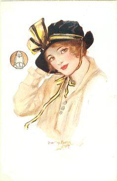 My Mascot Set - Dorothy Mostyn, First Used: 1915, Mascot is Billikens