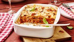 MAGGI Rezeptidee fuer Thunfisch-Lasagne