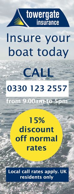 Boat insurance discount special offer. Safe Skipper Apps and Towergate Insurance are working together to provide boat insurance at a discount of 15% off Towergate's normal rates, plus a free app