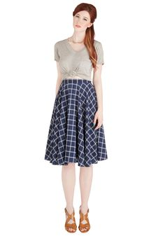 Framework of Mind Skirt | Mod Retro Vintage Skirts | ModCloth.com