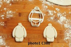 Big Hero 6  Cookie Cutter  big hero 6 by CBACookieCutter on Etsy