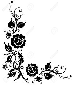 floral design corner frame vector clipart best pattern design rh pinterest com clip art designs free download clip art designs free