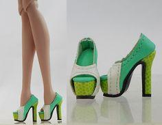 Fashion Sandals Shoes Pumps 12 Fashion Royalty Silksone Barbie Doll 16 FS 17 | eBay