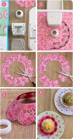 Cute cupcake liners - by Craft & Creativity