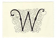 Day 75 • W • Handwritten Letters