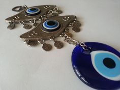 Your place to buy and sell all things handmade Greek Evil Eye, Hamsa, Rooms, Eyes, Street, Trending Outfits, Unique Jewelry, Handmade Gifts, Wall