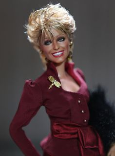 https://flic.kr/p/DndKBP   Whose that Girl   Farrah with her 80's shorter do for her appearance off Broadway in Extremities! Tthe 9th Black Label Black Label by Noel Cruz for www.myFarrah.com). A Mattel Repainted Black Label Barbie of Farrah Fawcett in the off Broadway Production of Extremities post Angels. She received critical acclaim for her work in this play and would later go on to star in The Burning Bed. Farrah by Noel Cruz. Visit his site for more of his work at www.ncruz.com/. P...