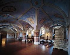 Dawna izba poselska - Castelo Real de Varsóvia Câmara dos Deputados. https://www.zamek-krolewski.pl/zwiedzanie/wnetrza/dawna-izba-poselska-i-sale-sasiednie Foto: John Morek Wojciech Kryński