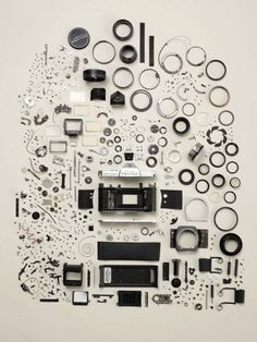 Todd McLellan is a talented photographer from Canada who has a thing for photography and dissembling old mechanical machines.