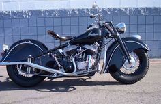 Nothing like a black Indian Chief motorcycle -1948