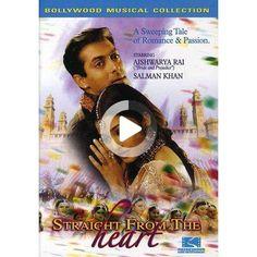 Straight From the Heart (dvd), Y #bulletjournal Birthday Bullet Journal, Straight From The Heart, Aishwarya Rai, Salman Khan, Romance, Passion, Romance Film, Romances, Aishwarya Rai Bachchan