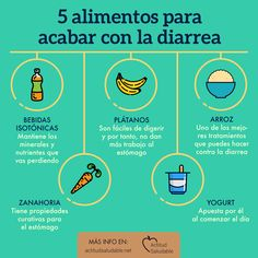 5 Foods to end diarrhea - We advise you these that end the Attitude - Salud Natural, Natural Detox, Health Tips, Health And Wellness, Health And Beauty, Fitness Nutrition, Fitness Tips, Diabetes, Beauty Detox