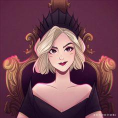 Kiernan Shipka, Cartoon Profile Pics, Sabrina Spellman, 3d Fantasy, Series Movies, Witchcraft, Art Sketches, Character Inspiration, Chill