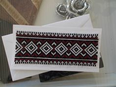Traditional elegant bookmark cross stitch by CamisTheCrossStitch Cross Stitch Gallery, Cross Stitch Pictures, Types Of Stitches, Cross Stitch Patterns, Create Your Own, Birthday Gifts, Projects To Try, Greeting Cards, Colours