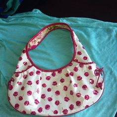 For Sale: Vera Wang Vinyl Frill Purse for $25