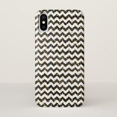 Black White Case-Mate Barely There iPhone X Case - patterns pattern special unique design gift idea diy