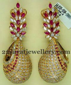 Jewellery Designs: Classic Earrings by Preeti Jain