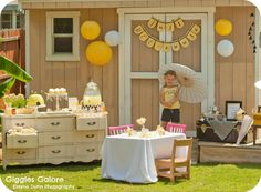 Just BEE-cause Tea Party - Giggles Galore