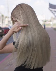Pin on Brazilian Hair Style Cheap Chinese Neitsi 120 Tabs Lace Front/Duo Pro/Ultra Hold Pre Cut Double Sided Tape Usa Walker Tape For Tape In Hair Extensions Grey Hair Wig, Ombre Hair, Pretty Hairstyles, Wig Hairstyles, Blonde Hair Looks, Dark Ash Blonde Hair, Rapunzel Hair, Aesthetic Hair, Hair Highlights