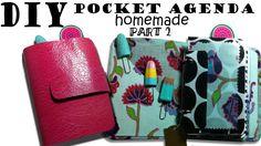 DIY- Pocket Agenda HOMEMADE-similar KIKKI K - part2 [Dear Agenda] Kikki K, Homemade, Pocket, Youtube, Diy, Home Made, Bricolage, Do It Yourself, Youtubers