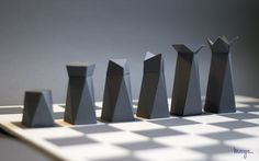 of paper and things: paper | paper chess