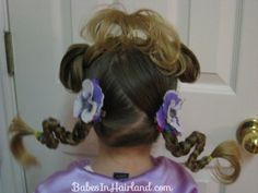 Crazy Hair Day Ideas - Babes In Hairland Crazy Hair For Kids, Crazy Hair Day At School, Crazy Hair Days, Girl Hairstyles, Hairdos, Beautiful Long Hair, Hair Humor, Hair And Nails, Hair Beauty