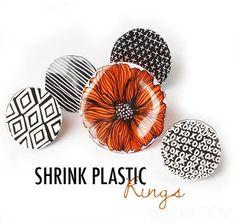 シュリンクプラスチックリング  alisaburke   Bloglovin」