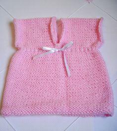 Minhas linhas e eu: Vestidinho/bata/colete em tricot