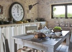Virlova Style: [Deco] El campo entra en la cocina | #piedra #deco #interior #design