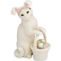 LENOX Figurines: Cats - Kitty's Easter Figurine