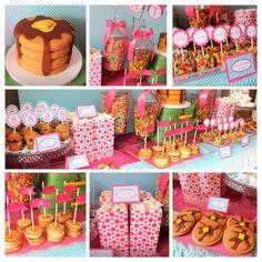 Pancakes and Pajamas Dessert Buffet