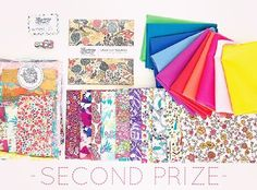 Second prize in our crazy fantastic Strawberry Thief ✨LIBERTY GIVEAWAY✨ - are you ready? ❤️Rainbow solid fat 1/16 bundle Pretty Floral fat 1/16 bundle 1 pack Charm Squares Lg Scrappy Boho pack 10mm Fabric button 6pack Valued at over $160  Imagine the beautiful projects you could create with these beauties! To participate : make sure you are following us and post a pic of your favourite Liberty fabric/project (or you can repost this image). Make sure to tag @the_strawberry_th...