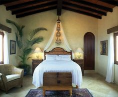 Simple beautiful room - visit www.mainlymexican... #Mexico #Mexican
