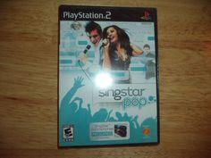 NEW SingStar: Pop  (Sony PlayStation 2, 2007) SEALED