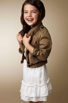 Marcas de moda para niños: Burberry Children